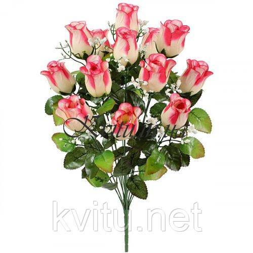 Искусственные цветы букет бутон кашка, 54см