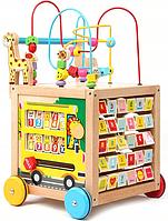 Детские деревянные ходунки SBB SBD5840A