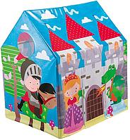 Детская палатка INTEX Веселый коттедж 45642NP с принтом сказочного замка