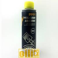 300мл Mannol 9991 MOLIBDEN ADDITIVE антифрикционная присадка в масло с дисульфидом молибдена MoS2