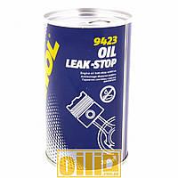 300мл Mannol 9423 OIL LEAK-STOP герметик масляной системы (стоп-течь моторного масла)