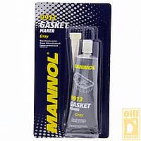 85г  Mannol 9913 GASKET MAKER GRAY серый силиконовый прокладочный автомобильный герметик