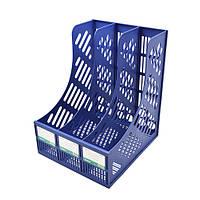 Лоток для бумаг вертикальный сборной 3 отделения  ST00330 (100шт)