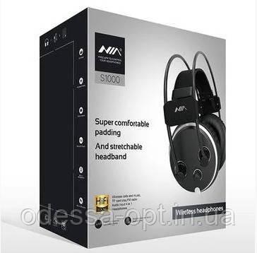 Навушники MDR NIA S1000 + BT + APP