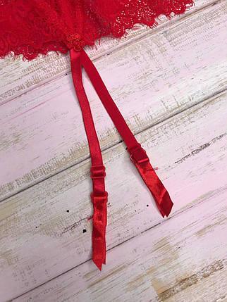 Кружевной пояс для чулок, фото 2