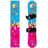 Наклейка на сноуборд Cow & Chicken