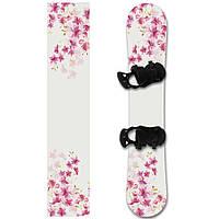 Наклейка на сноуборд Цвет Вишни