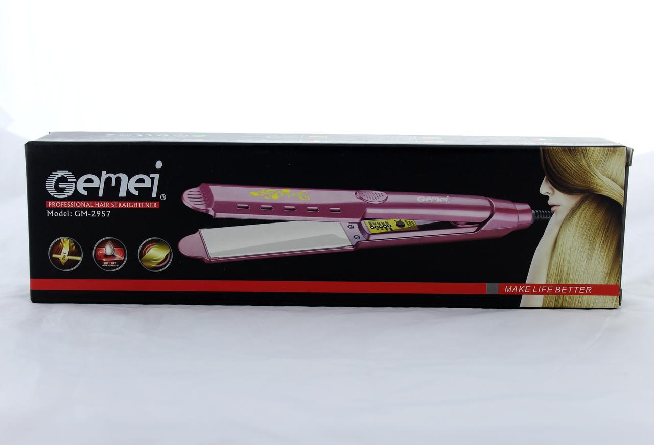 Щипці для волосся GM 2957 (вирівнювач)
