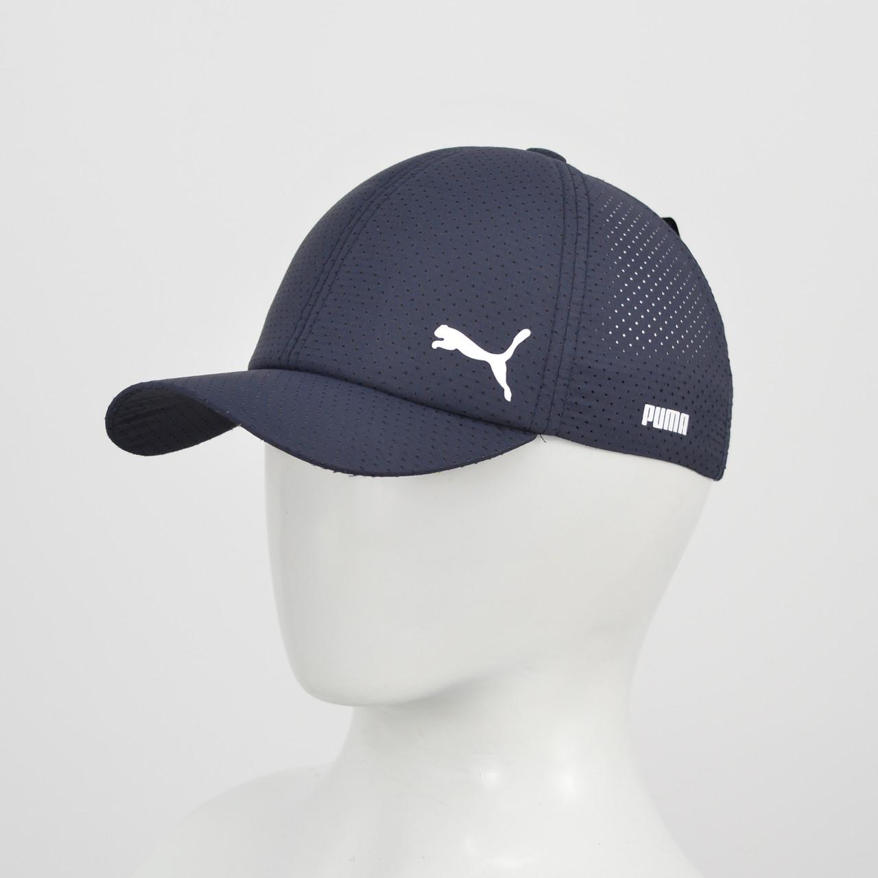 Бейсболка плащевка Puma (реплика) синий