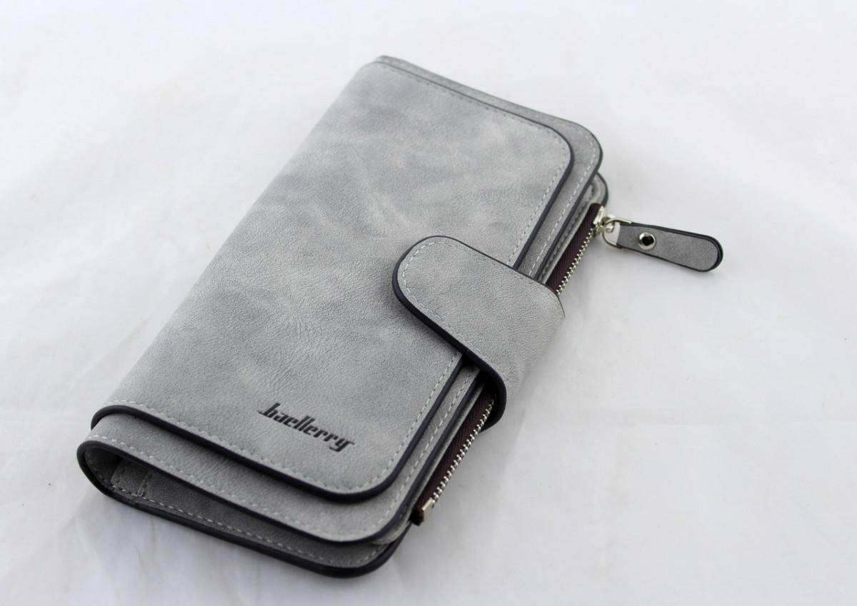 Кошелек, портмоне Baellerry N2345 (Серый)