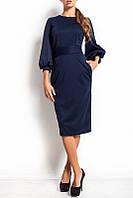 Трикотажное платье по колена (S/M, M/L, L/XL)