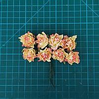 Цветы бумажные розы 02