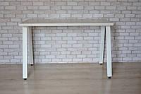 Стол Тавол КС 8.4 металл опоры белые 100смх60смх75см ДСП 32мм Белый, фото 1