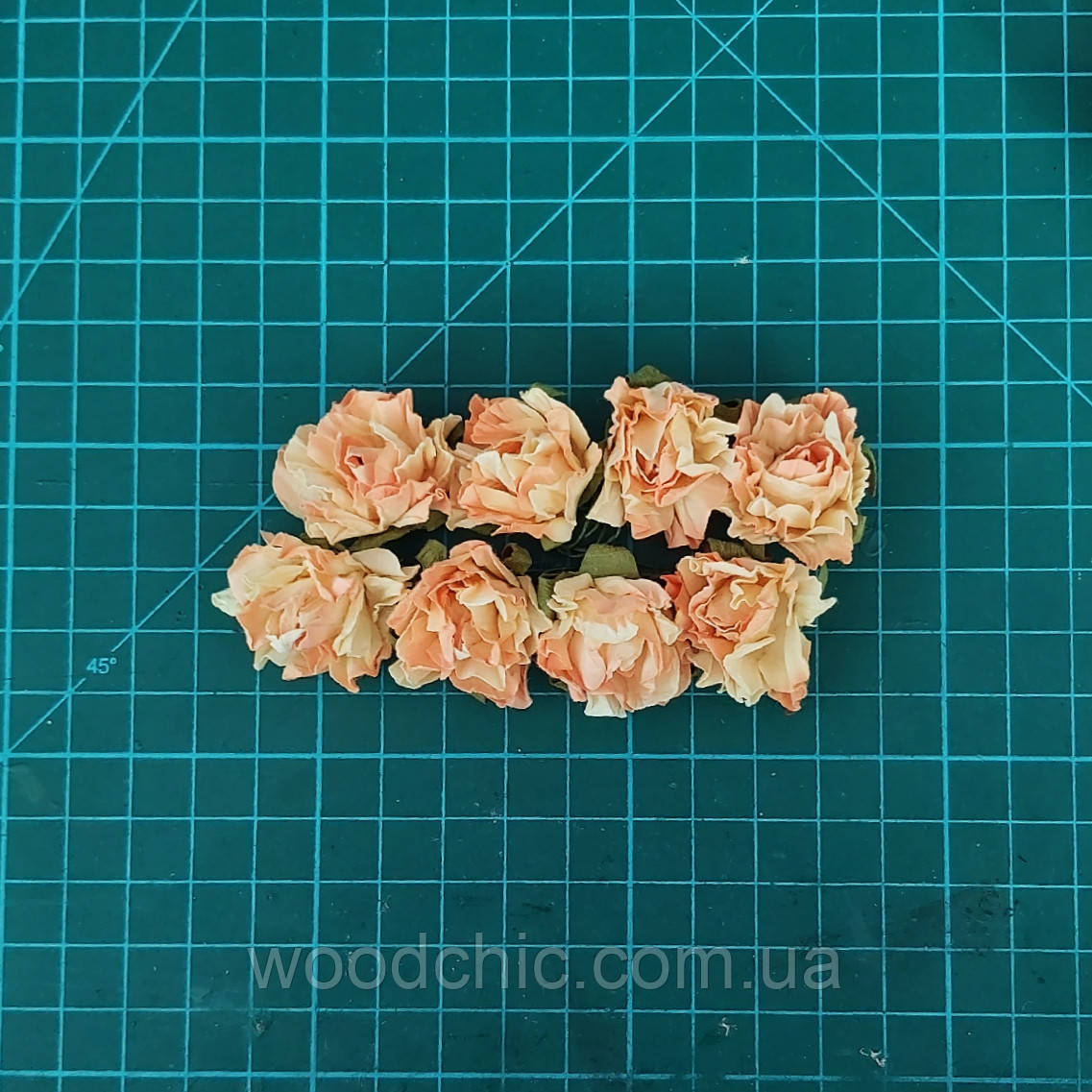 Цветы бумажные розы 03