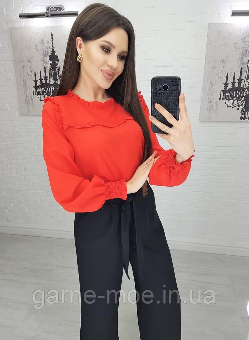 У25157 Модная женская блуза