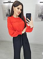 У25157 Модная женская блуза, фото 1