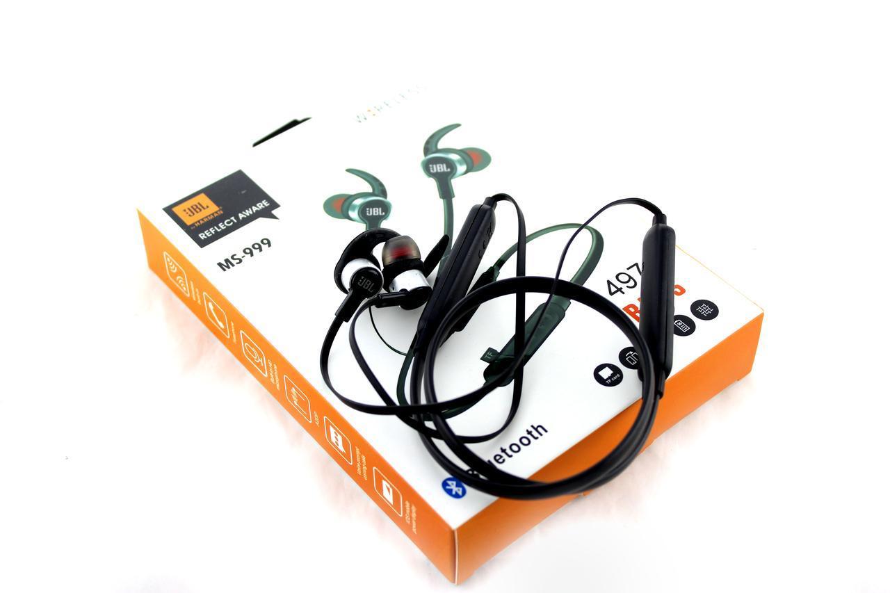 Навушники бездротові з мікрофоном MS 999 Jbl BT