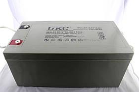 Гелиевый аккумулятор BATTERY 12V 250A UKC (Реальная ёмкость -40% = 150А)