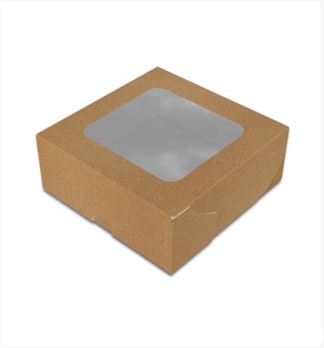 """Картонная коробка для суши """"Миди"""" крафт"""