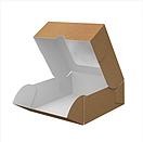 """Картонная коробка для суши """"Миди"""" крафт, фото 3"""
