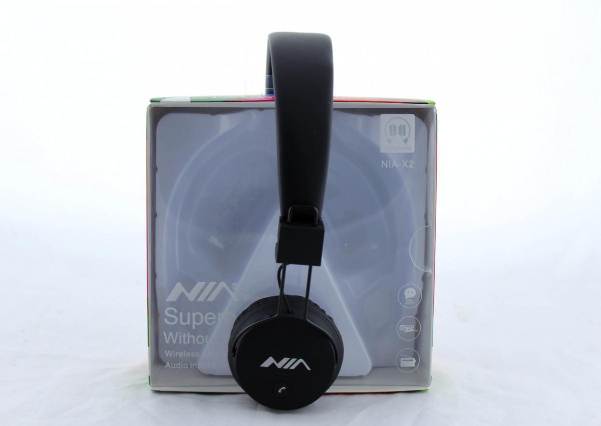 Наушники беспроводные с микрофоном NIA X2 BT