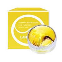 Гидрогелевые патчи под глаза LANBENA Retinol Hydra-Gel Eye Patches с коллоидным золотом и ретинолом 60 шт