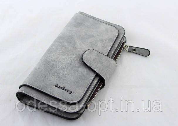 Кошелек, портмоне Baellerry N2345 (Серый), фото 2