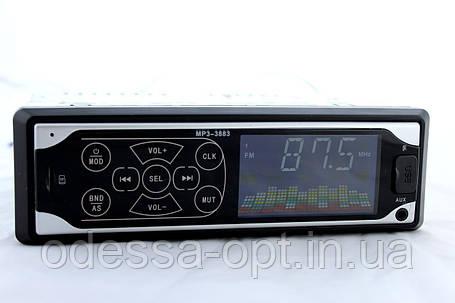 Автомагнитола MP3 3883 Iso 1DIN сенсорный дисплей (20) в уп. 20шт., фото 2