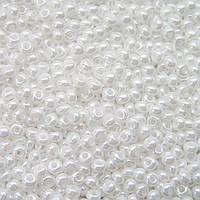 Бісер Preciosa Чехія №46102, білий перлиновий, перламутровий