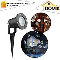 Лазерный проектор для дома Led Strahler Schneeflocke Z2   гирлянда лазерная подсветка для дома