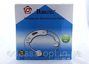 Напольные весы Domotec ACS MS 2003A 180 кг. круглые с датчиком температуры воздуха