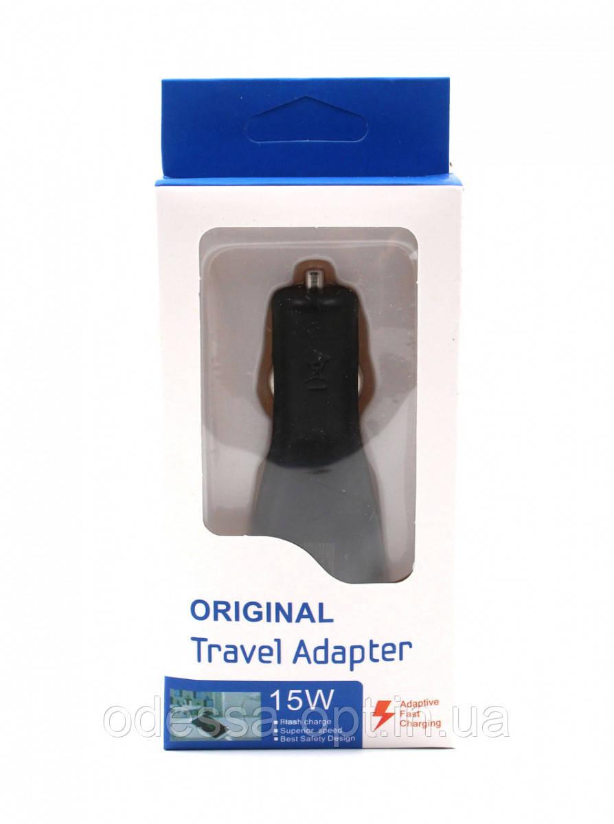 Адаптер CAR (АВТОМОБІЛЬНИЙ) 2 USB Fast charge AR61
