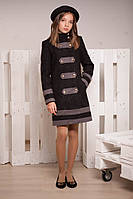 Демисезонное пальто для девочки -подростка, размер 40 на рост 164 см. (арт.К-77)