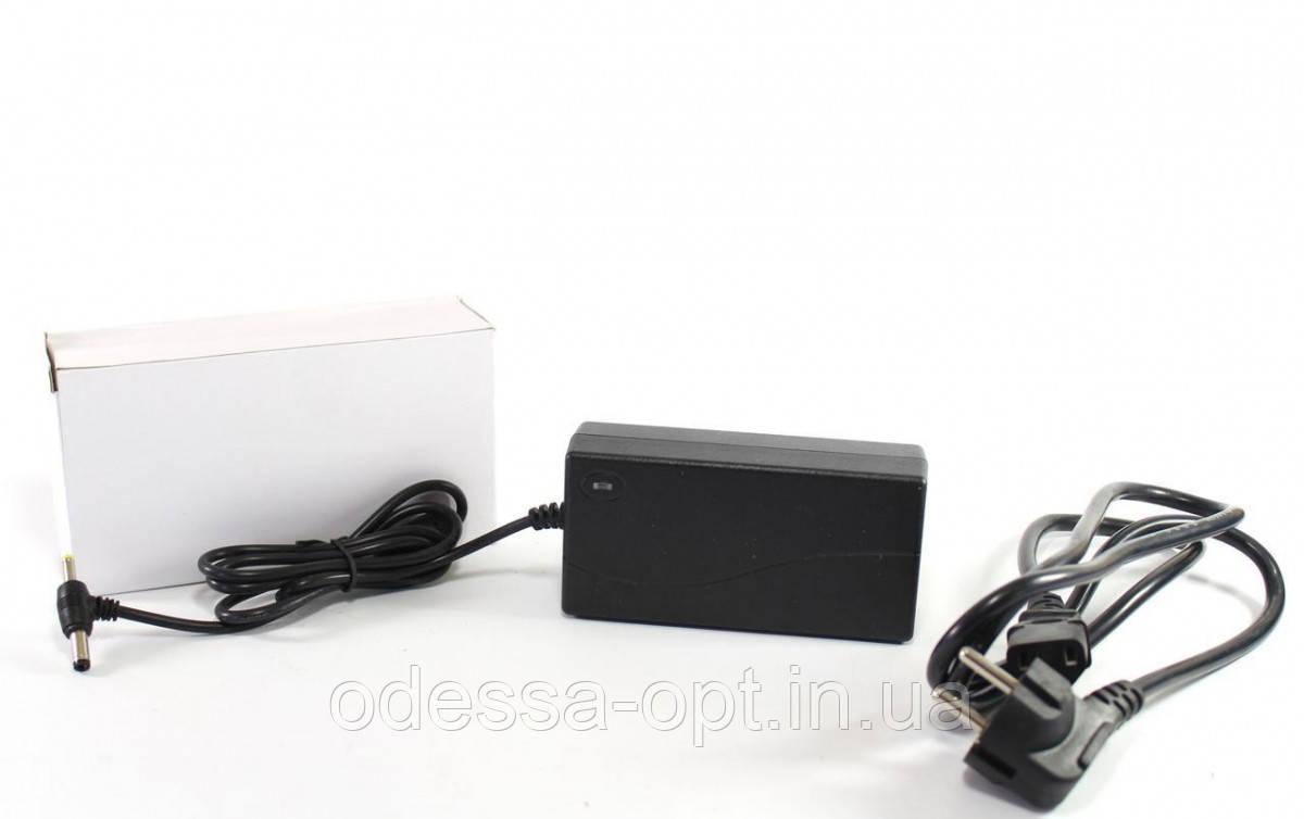 Адаптер 12V 4A T (5.5х2.5мм, пластик + кабель разъём)
