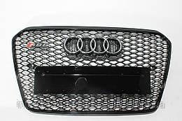 Решетка радиатора стиль RS5 для Audi A5 12-15