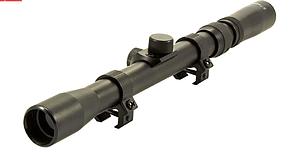 Оптический прицел 3-7X20 - Tasco прицельная сетка дуплекс + Крепление кольца в подарок