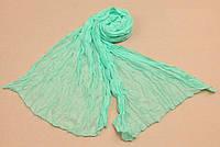 Женский шарф 138х72 см Салатовый АL703070, КОД: 1493503
