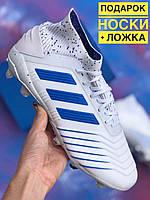 Бутсы Adidas Predator 18+FG/адидас предатор/копы