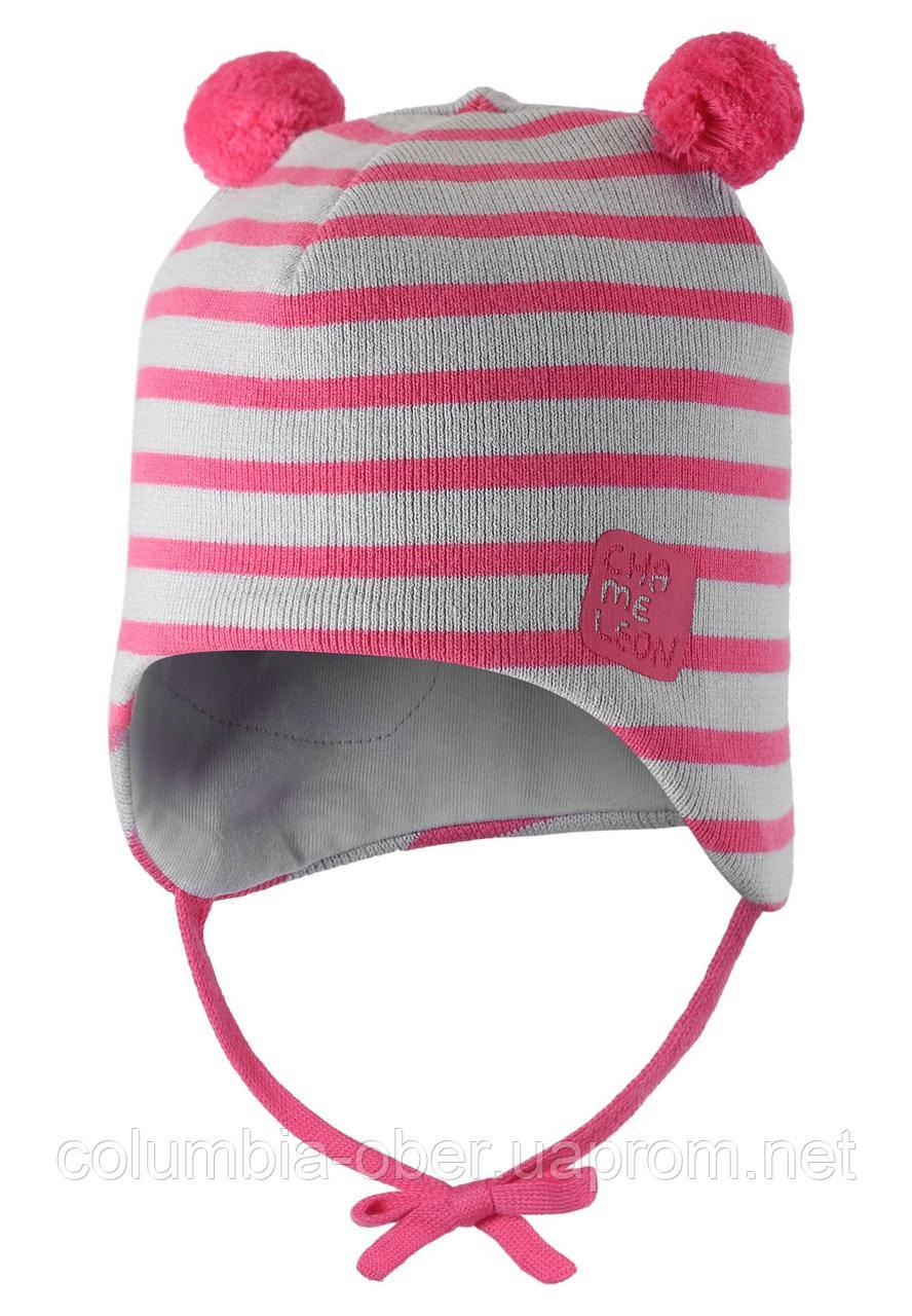 Демисезонная шапка для девочки Lassie by Reima 718781-4441. Размеры 42-52.