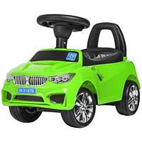 Каталка-толокар M 3147B(MP3)-5, музыка, MP3, USB, багажник, зеленый, фото 1