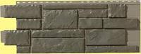 Фасадная панель Тесаный камень Gray blend