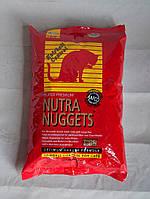 Сухой корм для кошек Nutra Nuggets (Нутра Наггетс) Adult с выводом шерсти 18.14 кг