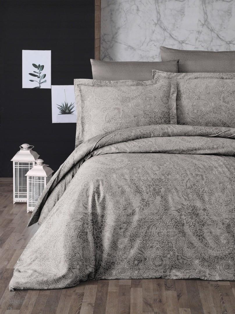 Комплект постельного белья First Choice Сатин Люкс Neva vizon