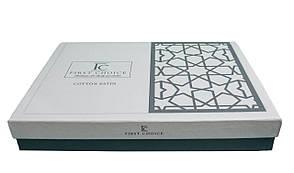 Комплект постельного белья First Choice Сатин Люкс Neva Sampanya, фото 3