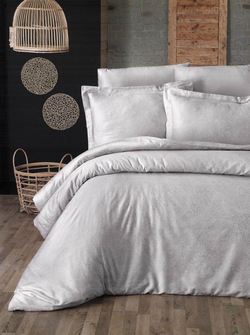 Комплект постельного белья First Choice Сатин Люкс Neva Sampanya