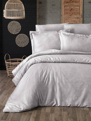 Комплект постельного белья First Choice Сатин Люкс Neva Sampanya, фото 2