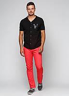 Мужские демисезонные прямые брюки Win Win L Красные 7170387-L, КОД: 1452696