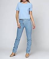Женские джинсы Tony 40 Голубой 2900054633019, КОД: 1001088