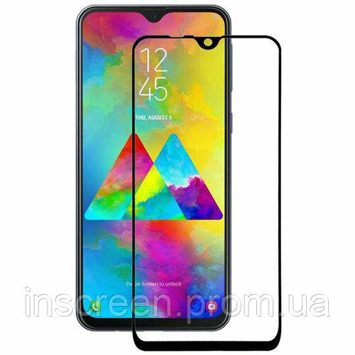 3D Захисне скло Florence (full glue) Samsung M30s (2019) M307 Full Cover чорне, фото 2