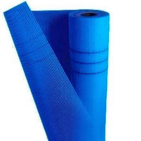 Сітка склотканева 1x50 м, 145 г/м2 синя Works 10315 (64433)
